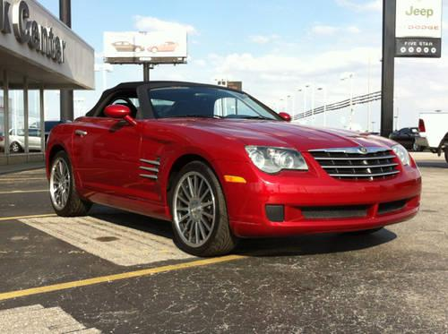 2007 chrysler crossfire 2d convertible base for sale in fort wayne indiana classified. Black Bedroom Furniture Sets. Home Design Ideas