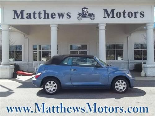 2007 Chrysler Pt Cruiser Convertible Convertible For Sale