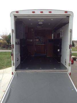2007 Continental Cargo by Forest River, toy hauler,