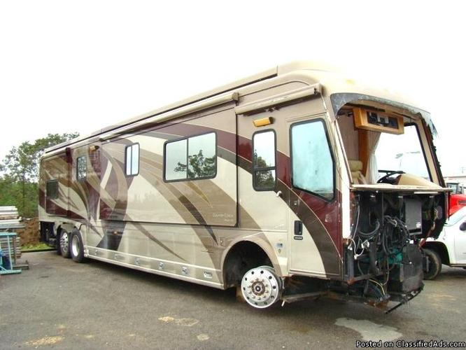 2007 COUNTRY COACH MAGNA 360 DAMAGED RV SALVAGE FOR SALE for Sale in