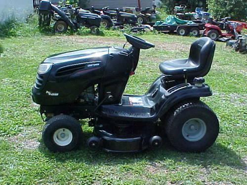 2007 CRAFTSMAN DYS 4500 riding mower   ONLY 94 6 HOURS