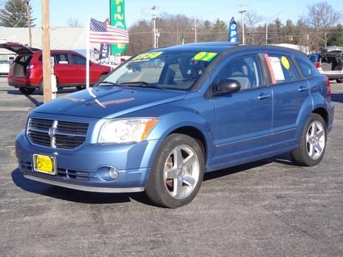 2007 dodge caliber r t w awd for sale in gonic new. Black Bedroom Furniture Sets. Home Design Ideas