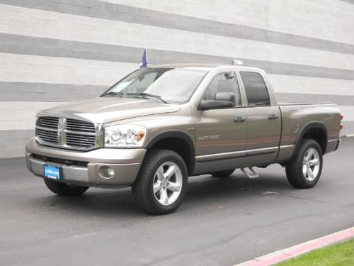 2007 dodge ram 1500 4x4 quad cab for sale in boise idaho classified. Black Bedroom Furniture Sets. Home Design Ideas