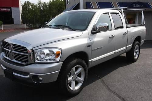 2007 dodge ram 1500 pickup truck quad cab 140 5 39 39 laramie for sale in plaistow new hampshire. Black Bedroom Furniture Sets. Home Design Ideas