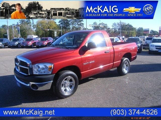 2007 dodge ram 1500 st for sale in gladewater texas classified. Black Bedroom Furniture Sets. Home Design Ideas