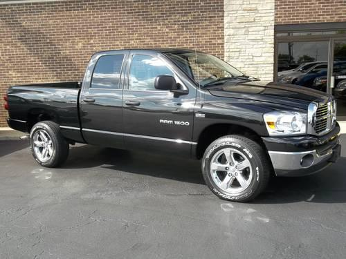 2007 dodge ram 1500 truck quad cab slt big horn for sale in bull valley illinois classified. Black Bedroom Furniture Sets. Home Design Ideas