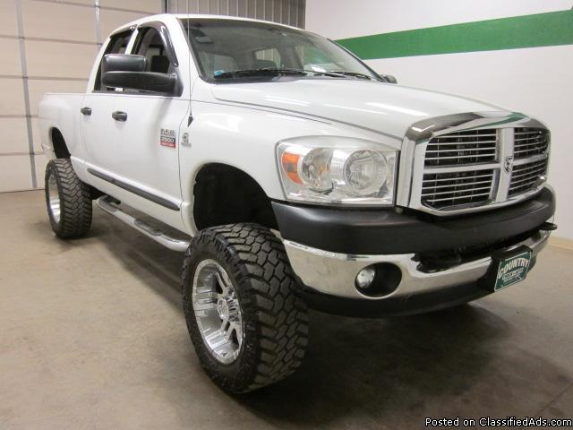 2007 dodge ram 2500 4x4 5 9 diesel quad cab automatic short bed lifted for sale in fort lupton. Black Bedroom Furniture Sets. Home Design Ideas