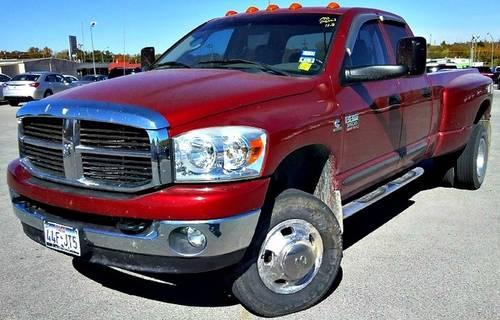 2007 dodge ram 3500 pickup truck 4wd quad cab 160 5 drw for sale in ardmore oklahoma classified. Black Bedroom Furniture Sets. Home Design Ideas