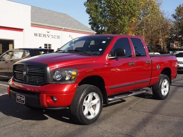 2007 dodge ram pickup 1500 slt slt 4dr quad cab 4wd sb for sale in wallingford connecticut. Black Bedroom Furniture Sets. Home Design Ideas
