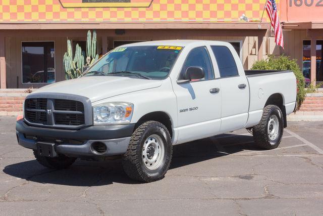 2007 dodge ram pickup 1500 st st 4dr quad cab 4wd sb for sale in tucson arizona classified. Black Bedroom Furniture Sets. Home Design Ideas
