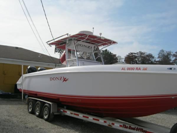 2007 Donzi 32ZF - $74900