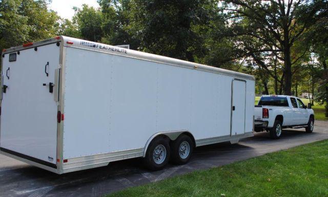 Enclosed Trailers For Sale In Michigan >> 2007 Featherlite 24' enclosed trailer all aluminum for Sale in Howell, Michigan Classified ...