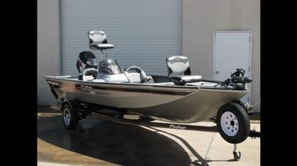 2007 Fisher Pro 18 Bass Fishing Boat For Sale In Raleigh