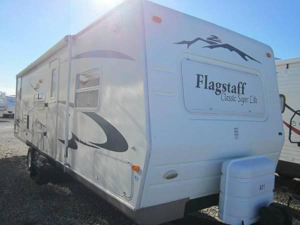 2007 Flagstaff Travel Trailer For Sale In Big Lake