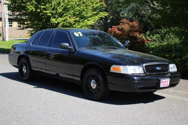 2007 Ford Crown Victoria Police Interceptor Police