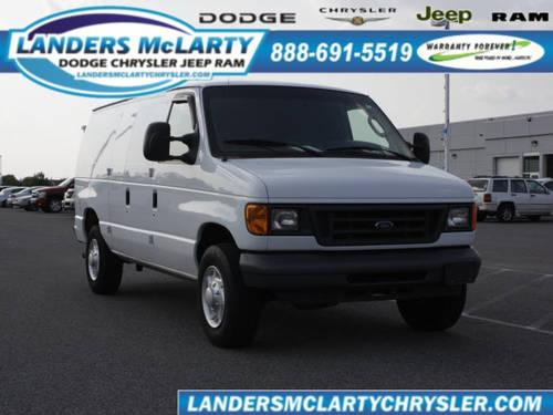 Landers Mclarty Ford >> 2007 Ford E-Series Cargo Van for Sale in Bessemer, Alabama ...