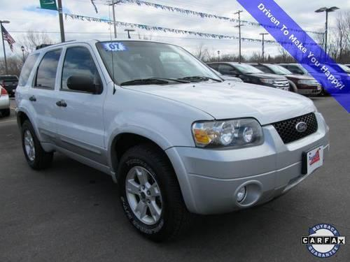 2007 ford escape 4d sport utility xlt for sale in mukwonago wisconsin classified. Black Bedroom Furniture Sets. Home Design Ideas