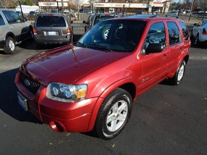 2007 ford escape hybrid 4wd 4dr suv fully loaded showroom condition for sale in fair oaks. Black Bedroom Furniture Sets. Home Design Ideas