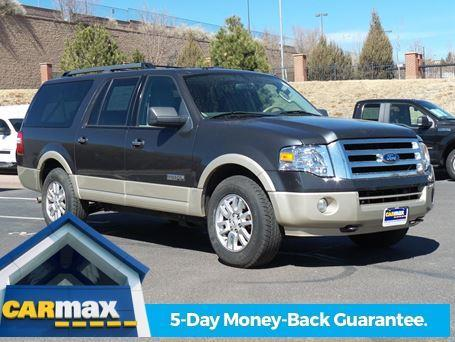 2007 ford expedition el eddie bauer eddie bauer 4dr suv 4x4 for sale in centennial colorado. Black Bedroom Furniture Sets. Home Design Ideas