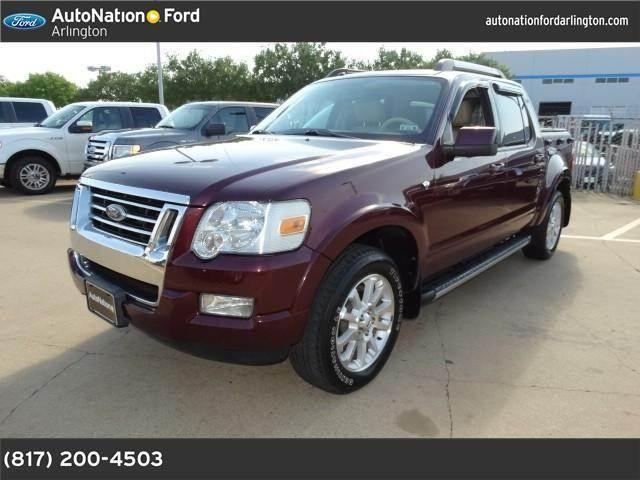 2007 ford explorer sport trac for sale in arlington texas classified. Black Bedroom Furniture Sets. Home Design Ideas
