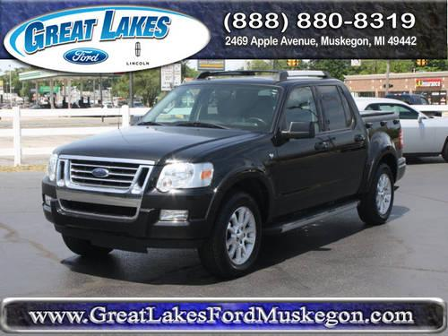 2007 ford explorer sport trac suv 4x4 limited for sale in meskegon michigan classified. Black Bedroom Furniture Sets. Home Design Ideas