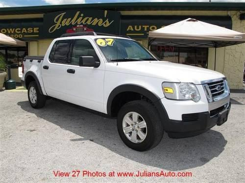 2007 ford explorer sport trac truck 2wd 4dr v6 xlt for sale in new port richey florida. Black Bedroom Furniture Sets. Home Design Ideas
