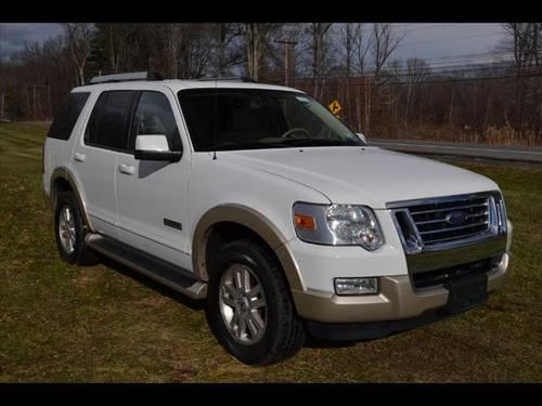 2007 ford explorer suv 4x4 eddie bauer for sale in rhinebeck new york classified. Black Bedroom Furniture Sets. Home Design Ideas