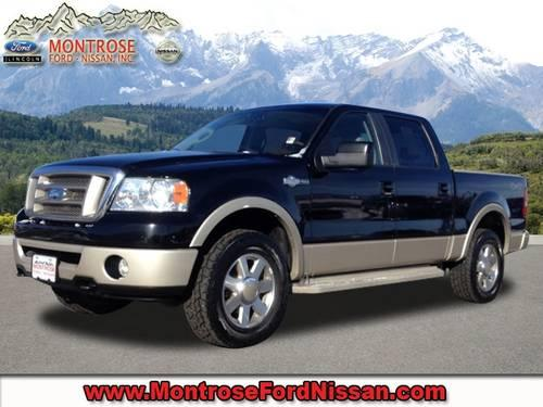 2007 ford f 150 crew cab pickup short bed king ranch for sale in colona colorado classified. Black Bedroom Furniture Sets. Home Design Ideas