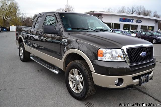 2007 ford f 150 39 lariat 39 extended cab 4x4 rhinebeck. Black Bedroom Furniture Sets. Home Design Ideas