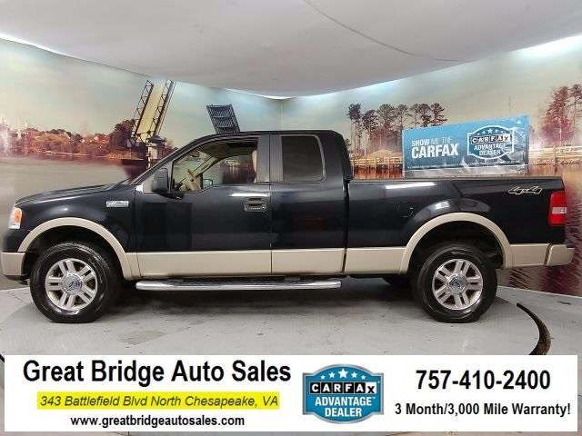 2007 Ford F-150 Lariat Lariat 4dr SuperCab 4WD