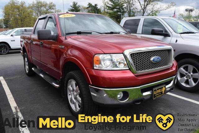 2007 ford f 150 lariat lariat 4dr supercrew 4x4 styleside 5 5 ft sb for sale in nashua new. Black Bedroom Furniture Sets. Home Design Ideas
