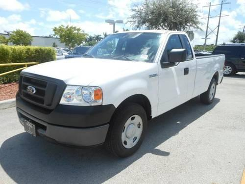 2007 ford f 150 pickup truck xl for sale in miami florida. Black Bedroom Furniture Sets. Home Design Ideas