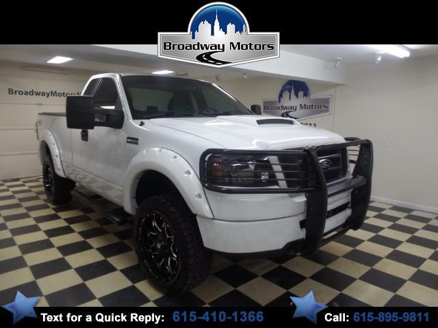 2007 ford f 150 stx stx 2dr regular cab 4wd styleside 6 5 ft sb for sale in murfreesboro. Black Bedroom Furniture Sets. Home Design Ideas