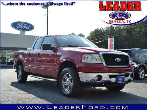 2007 ford f 150 super cab pickup 4x4 xlt for sale in seneca south carolina classified. Black Bedroom Furniture Sets. Home Design Ideas