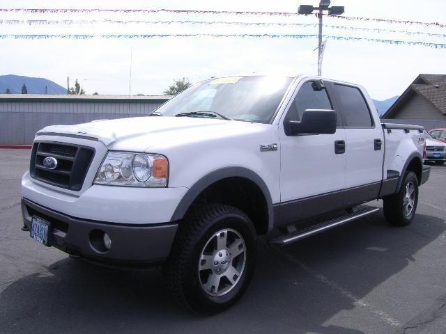 2007 ford f 150 supercrew 4x4 flareside 6 5 ft box 150 in wb for sale in grants pass oregon. Black Bedroom Furniture Sets. Home Design Ideas