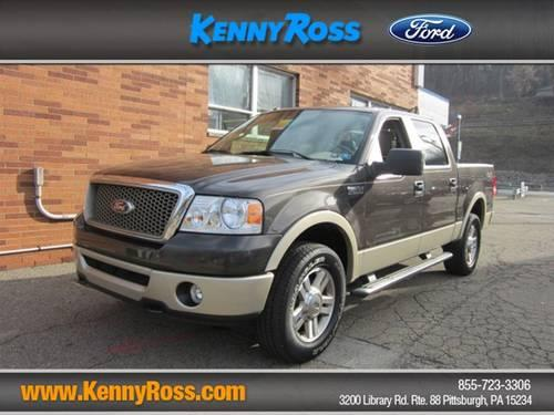 2007 ford f 150 supercrew supercrew cab lariat for sale in pittsburgh pennsylvania classified. Black Bedroom Furniture Sets. Home Design Ideas