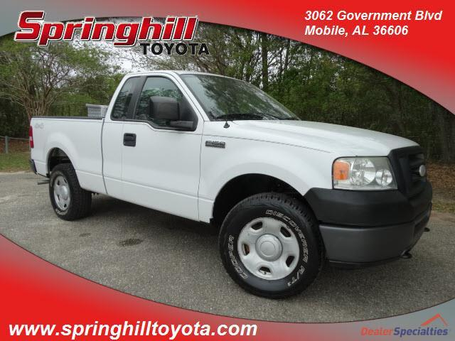 2007 Ford F-150 XL XL 2dr Regular Cab 4x4 Styleside 6.5