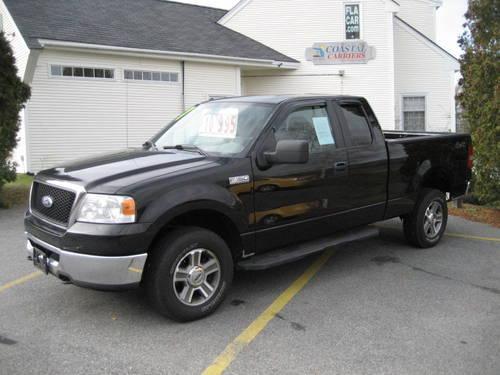 2007 ford f 150 xlt 4 door quad cab 4x4 loaded gloss black. Black Bedroom Furniture Sets. Home Design Ideas