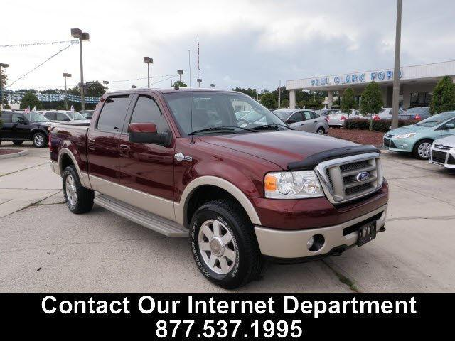 2007 ford f150 king ranch for sale in yulee florida. Black Bedroom Furniture Sets. Home Design Ideas
