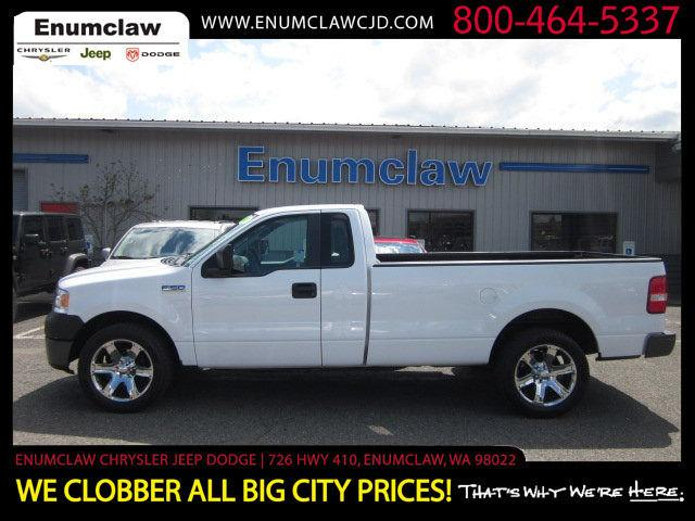 2007 ford f150 xl for sale in enumclaw washington. Black Bedroom Furniture Sets. Home Design Ideas