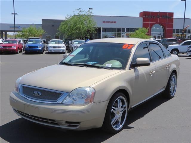 2007 ford five hundred sedan sel for sale in tucson. Black Bedroom Furniture Sets. Home Design Ideas