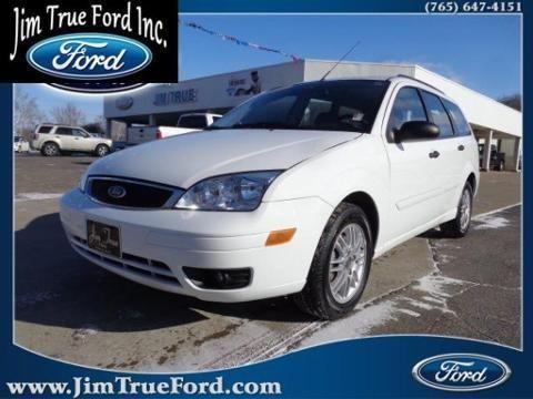 2007 ford focus 4 door wagon for sale in brookville. Black Bedroom Furniture Sets. Home Design Ideas