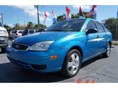 2007 ford focus 4 dr sedan zx4 s for sale in hialeah. Black Bedroom Furniture Sets. Home Design Ideas