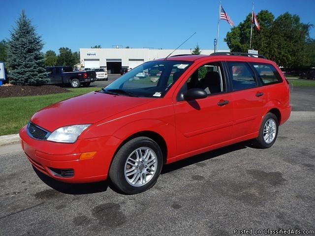 2007 ford focus wagon for sale in byron center michigan classified. Black Bedroom Furniture Sets. Home Design Ideas