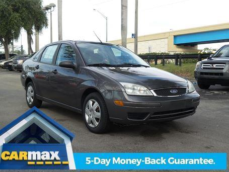 2007 ford focus zx4 s zx4 s 4dr sedan for sale in davie. Black Bedroom Furniture Sets. Home Design Ideas