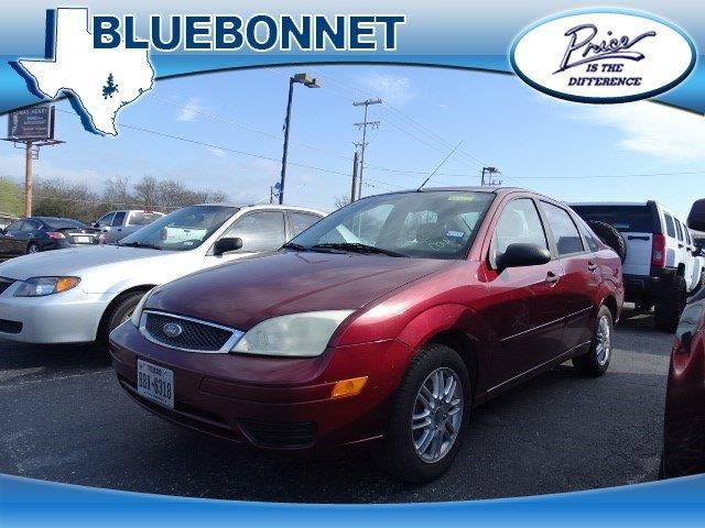 2007 ford focus zx4 s zx4 s 4dr sedan for sale in canyon. Black Bedroom Furniture Sets. Home Design Ideas