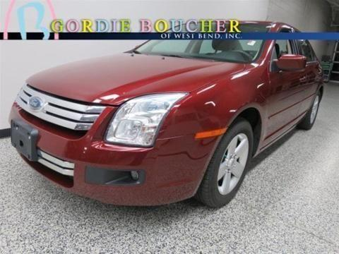 2007 ford fusion 4 door sedan for sale in west bend wisconsin classified. Black Bedroom Furniture Sets. Home Design Ideas
