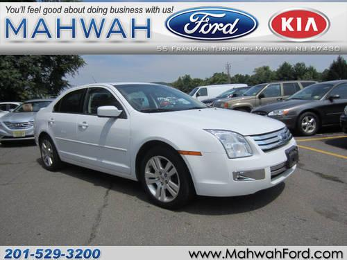 2007 ford fusion 4 dr sedan awd v6 sel for sale in mahwah new jersey classified. Black Bedroom Furniture Sets. Home Design Ideas