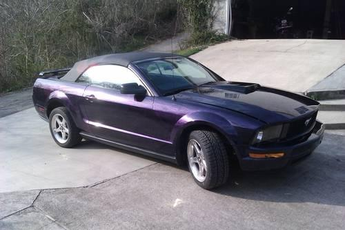 2007 ford mustang for sale in coal grove ohio classified. Black Bedroom Furniture Sets. Home Design Ideas