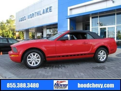 2007 Ford Mustang Convertible Deluxe For Sale In Claiborne